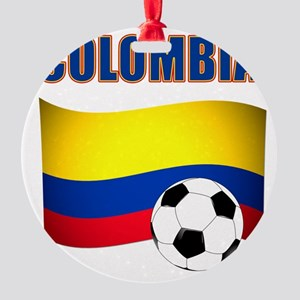 Colombia futbol soccer Ornament