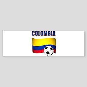 Colombia futbol soccer Bumper Sticker