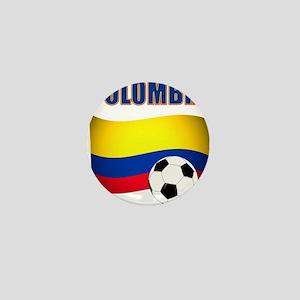 Colombia futbol soccer Mini Button