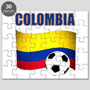Colombia futbol soccer Puzzle