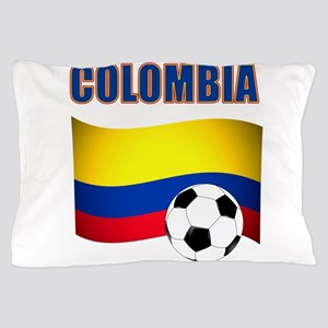 Colombia futbol soccer Pillow Case