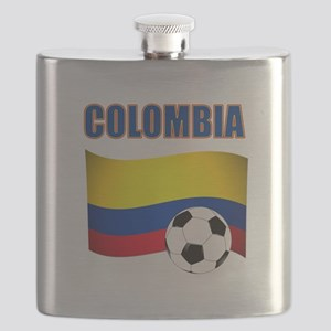 Colombia futbol soccer Flask