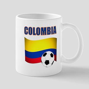 Colombia futbol soccer Mugs