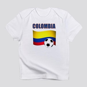 Colombia futbol soccer Infant T-Shirt