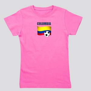 Colombia futbol soccer Girl's Tee