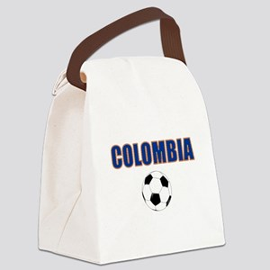 Colombia futbol soccer Canvas Lunch Bag