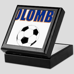 Colombia futbol soccer Keepsake Box