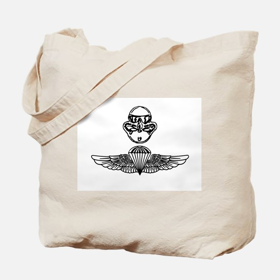 Duel Qualified Special Operations USMC Tote Bag