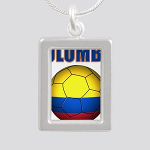Colombia futbol soccer Necklaces