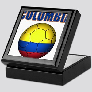 Colombia futbol soccer Keepsake Box