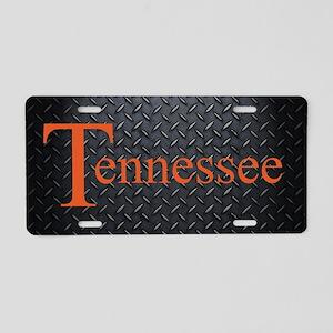 Tennessee Diamond Plate Aluminum License Plate