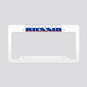 Russia soccer License Plate Holder