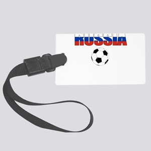 Russia soccer Luggage Tag