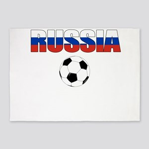 Russia soccer 5'x7'Area Rug