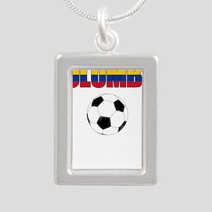 Colombia futbol soccer Necklaces