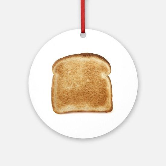 Toast Ornament (Round)
