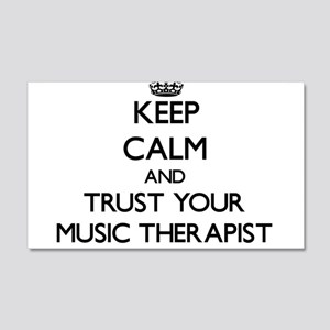Keep Calm and Trust Your Music arapist Wall Decal