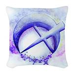 SFB logo 1 Woven Throw Pillow