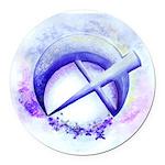 SFB logo 1 Round Car Magnet