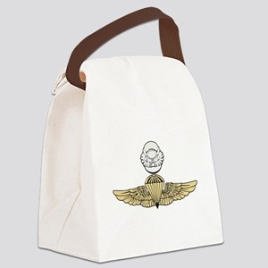 Jump and scuba color Canvas Lunch Bag