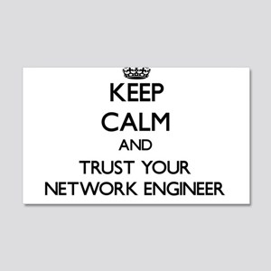Keep Calm and Trust Your Network Engineer Wall Dec