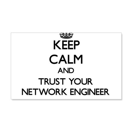 Keep Calm and Trust Your Network Engineer Wall Dec by