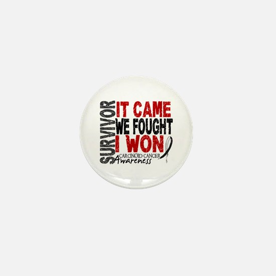 Carcinoid Cancer Survivor 2 Mini Button