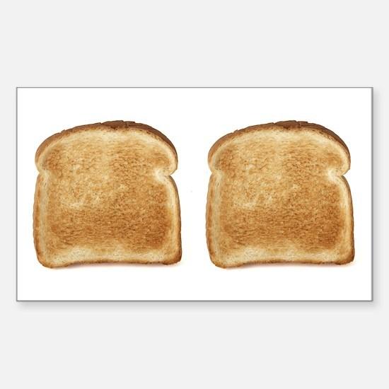 Toast Rectangle Decal