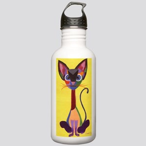 Siamese Geo Stainless Water Bottle 1.0L