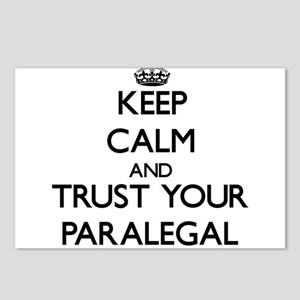 Keep Calm and Trust Your Paralegal Postcards (Pack
