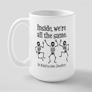 SAME INSIDE Large Mug