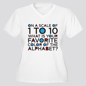Scale of 1 to 10 Plus Size T-Shirt