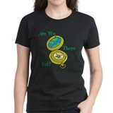 Are we there yet Women's Dark T-Shirt