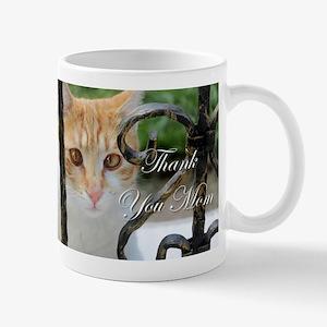 Thank You Mom Cat Mug