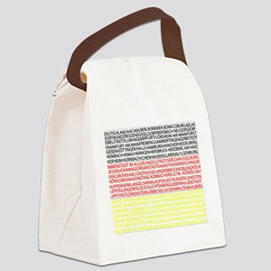 German Cities Flag Canvas Lunch Bag