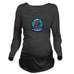 VP-8 Long Sleeve Maternity T-Shirt