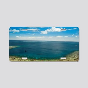 Drawaqa island bay Aluminum License Plate