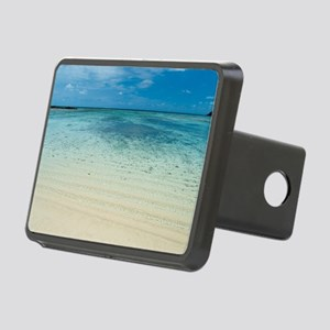 Pretty shallow tropical co Rectangular Hitch Cover