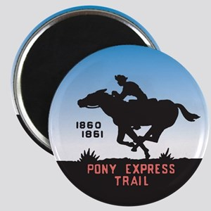 The Pony Express Magnet