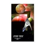 Cool Star Trek 35x21 Wall Decal