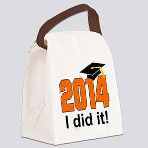 2014 I did it! Canvas Lunch Bag