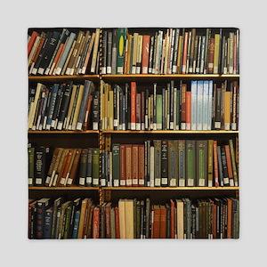 Bookshelves Queen Duvet