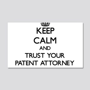 Keep Calm and Trust Your Patent Attorney Wall Deca