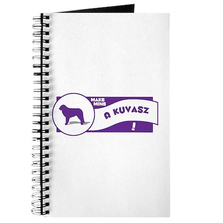 Make Mine Kuvasz Journal