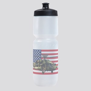 UH-60 Black Hawk Sports Bottle