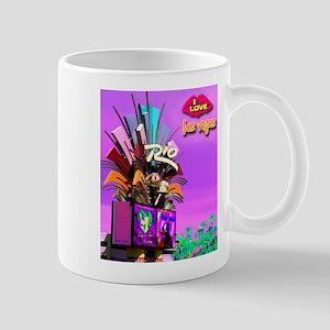 NEON Las Vegas Rio Large Mugs