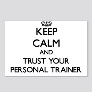 Keep Calm and Trust Your Personal Trainer Postcard