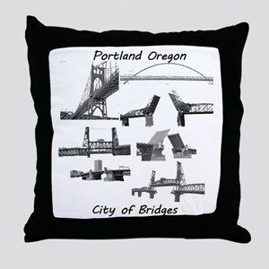 Bridge City Throw Pillow