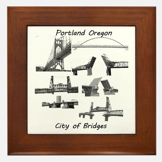 Bridge City Framed Tile