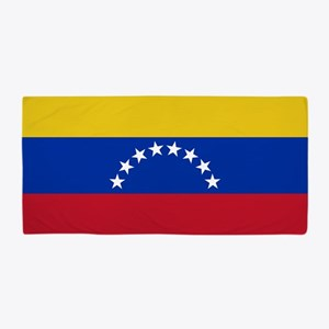 Flag of Venezuela Beach Towel